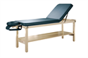 מיטת טיפולים קבועה מעץ