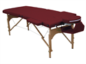מיטת טיפולים מעץ עם כנפיים Anji II
