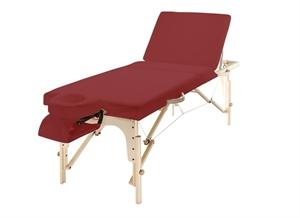 מיטת טיפולים מעץ עם גב מתרומם Embrace