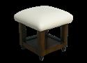כסא פדיקור עם בסיס עץ יוקרתי
